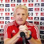 This Is Wiltshire: Gordon Strachan was not a happy man heading into Scotland's meeting with Gibraltar