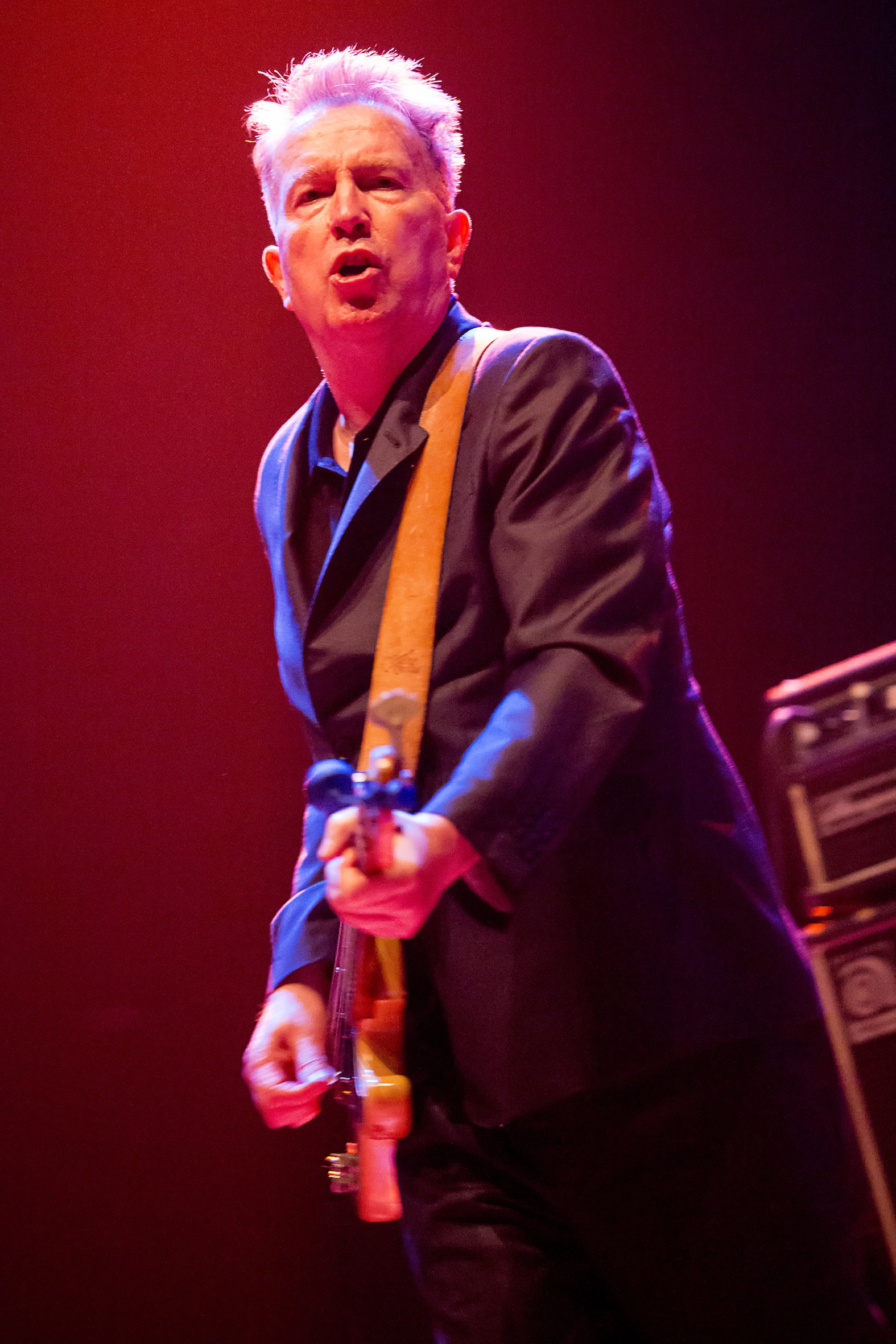 Tom Robinson on stage