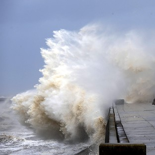 Storm Imogen set to dump high tides and batter Britain with 80mph winds