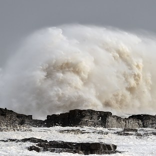 Power knocked out as Storm Imogen roars through UK