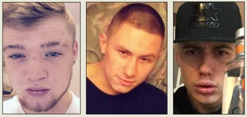 This Is Wiltshire: Daniel Peapell, Raffaele Bretti and Zak Doyle have admitted their part in the attack on Vito Mazzotta