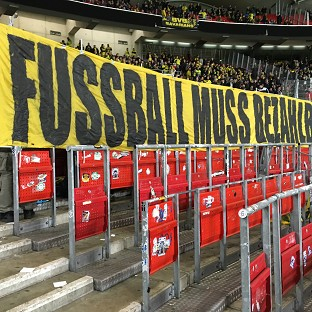 Atmosphere at Premier League grounds destroyed by ticket prices - Dortmund fan