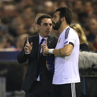 Neville celebrates first league win as Valencia boss