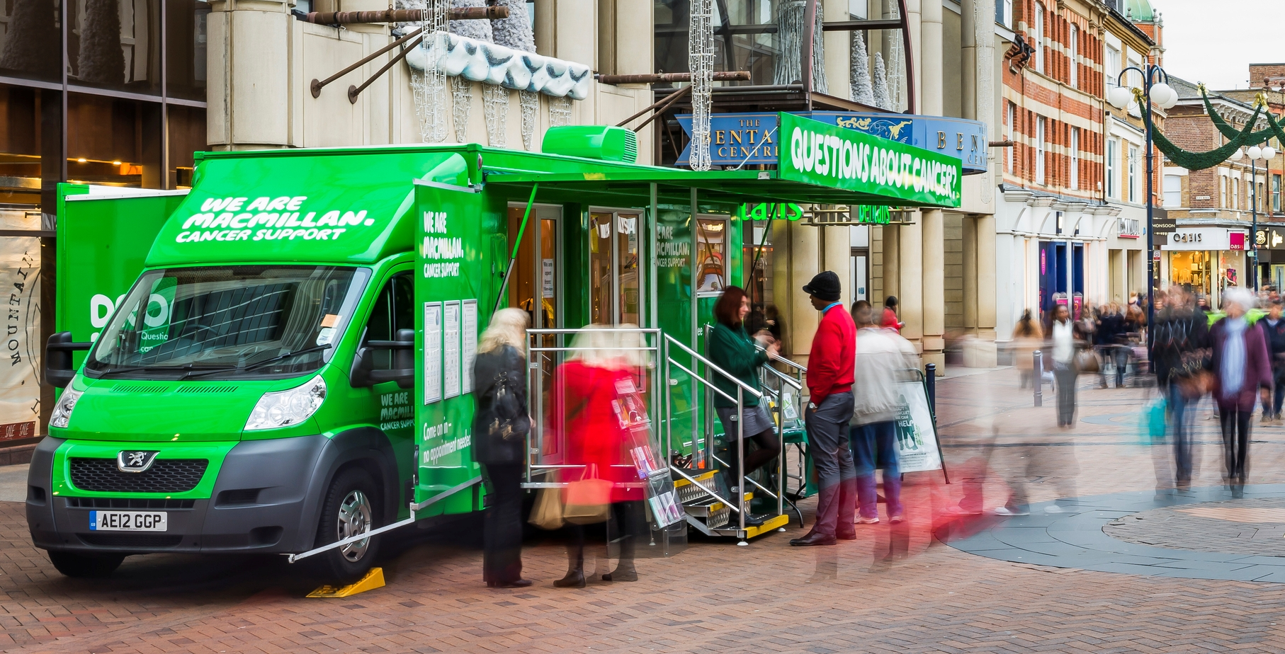 Macmillan Cancer Support Information Service in Salisbury