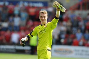 Teenage goalkeeper Will Henry played in Swindon Town's final two games of the season
