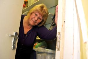 Pat Winning, deputy manager at the Open Door Centre in Gorse Hill which has been burgled for a second time Picture: Dave Cox