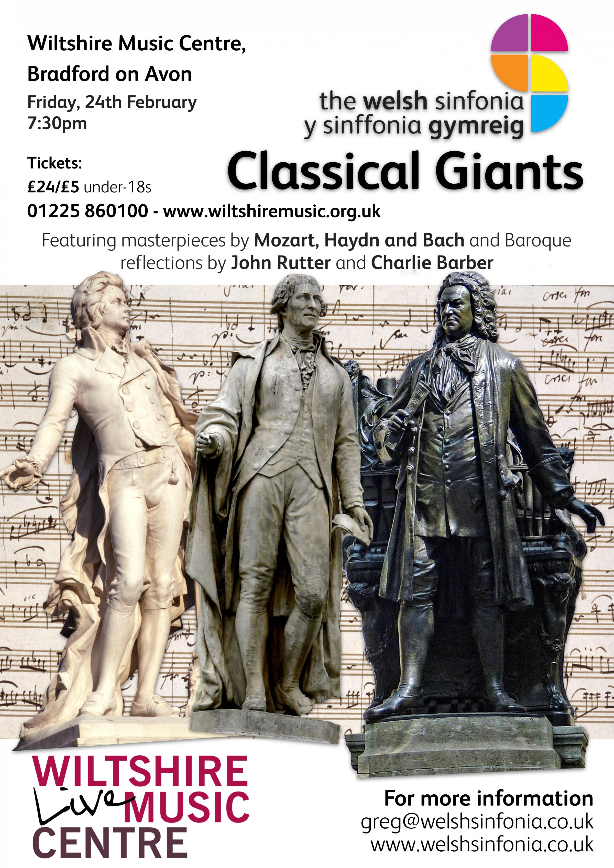 The Welsh Sinfonia - Classical Giants