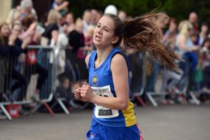Jade Littlechild comes home second in Sunday's Corsham St George's 10K