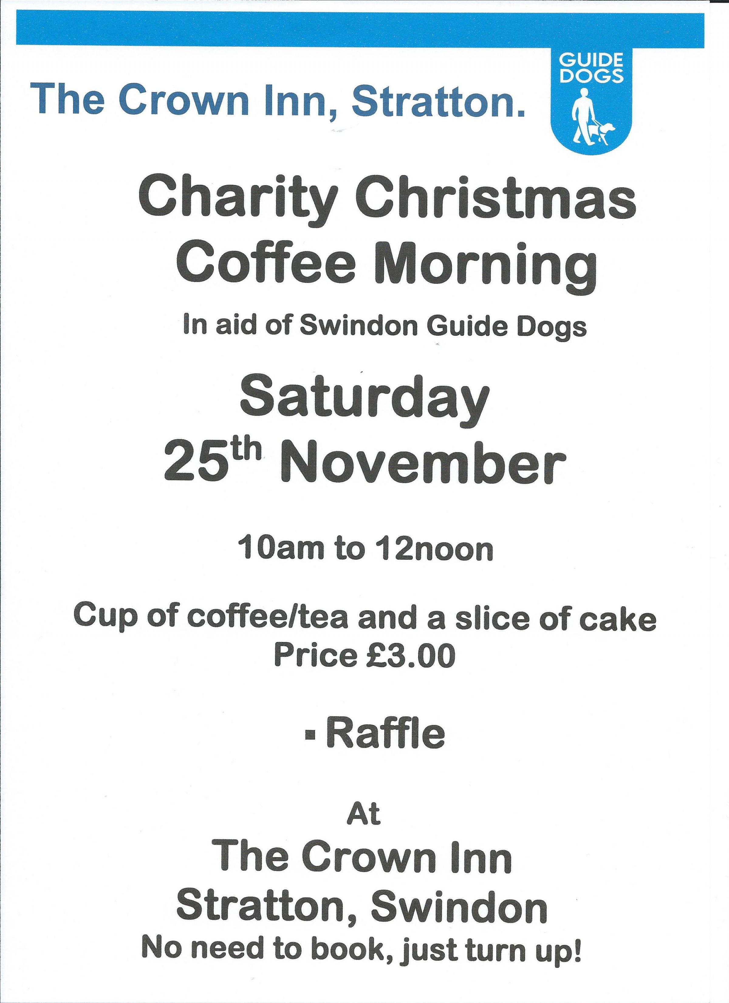 Charity Christmas Coffee Morning.