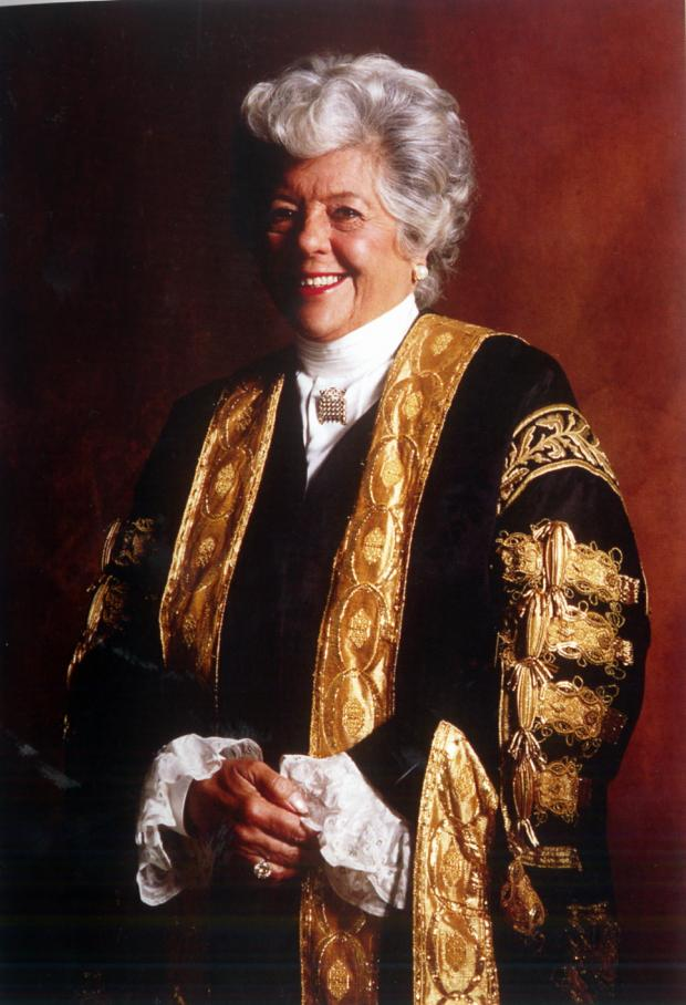 This Is Wiltshire: Baroness Betty Boothroyd