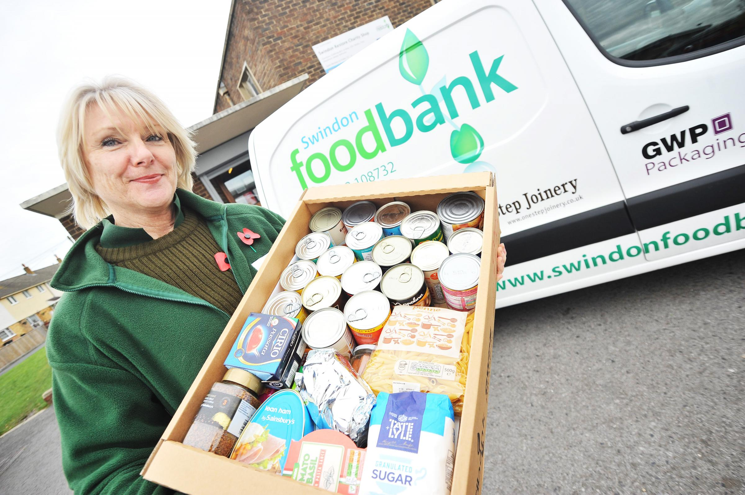 Fury as Swindon's foodbank reveals it could close in 10 days