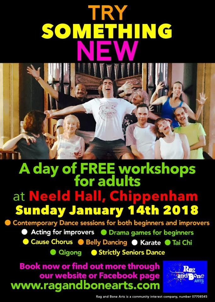 Try Something New - FREE Adult Workshops!
