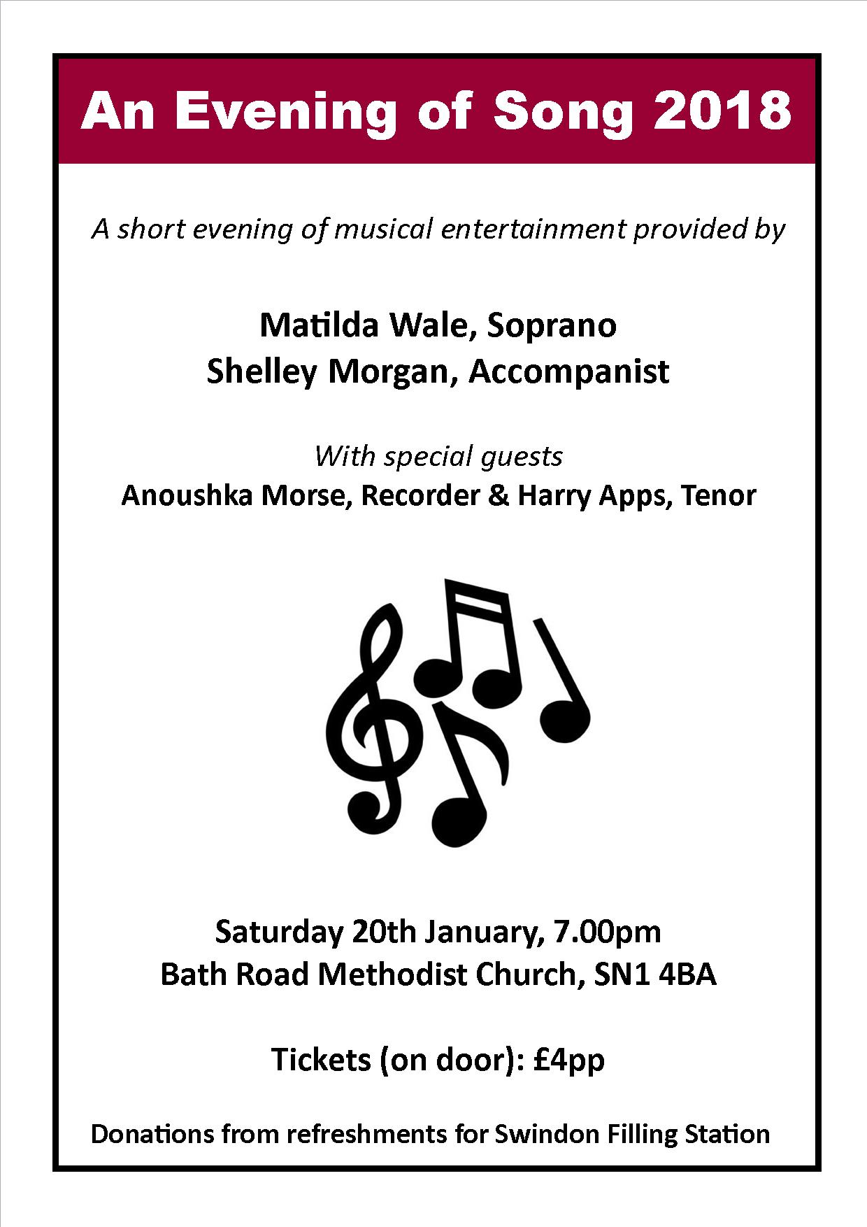 An Evening of Song 2018