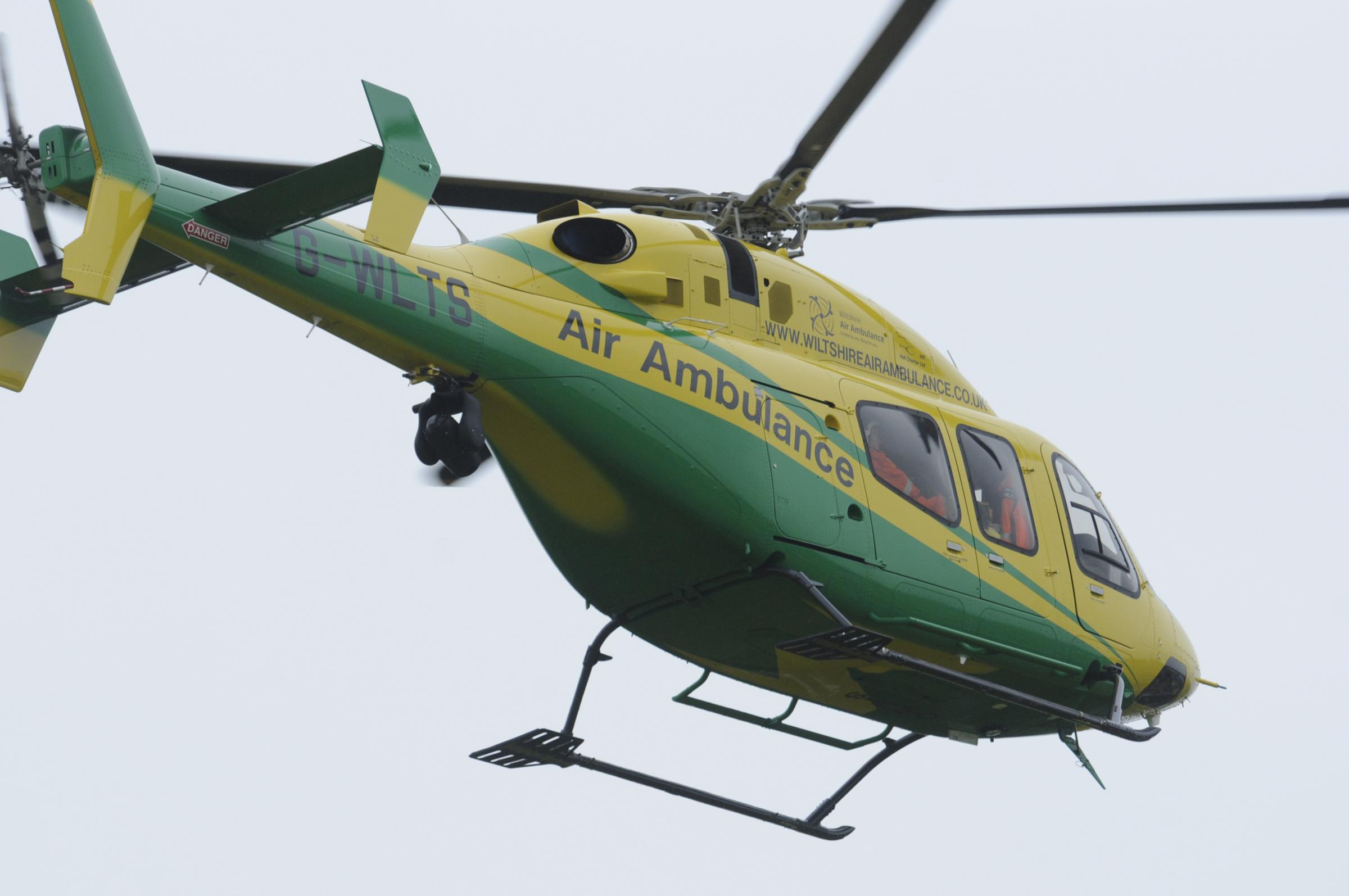 Man, 40s, dies after 'medical incident' that brought Wiltshire Air Ambulance to Liden