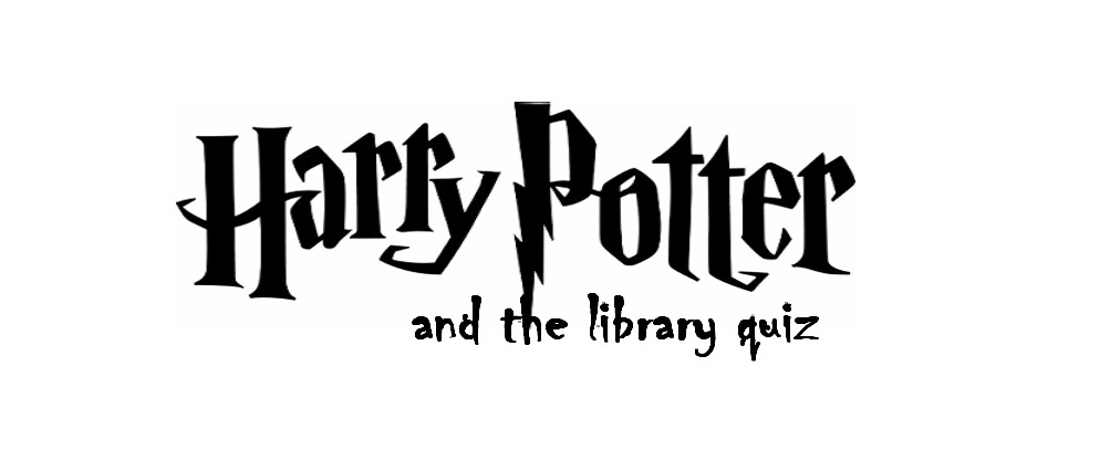 Harry Potter and the Library Quiz
