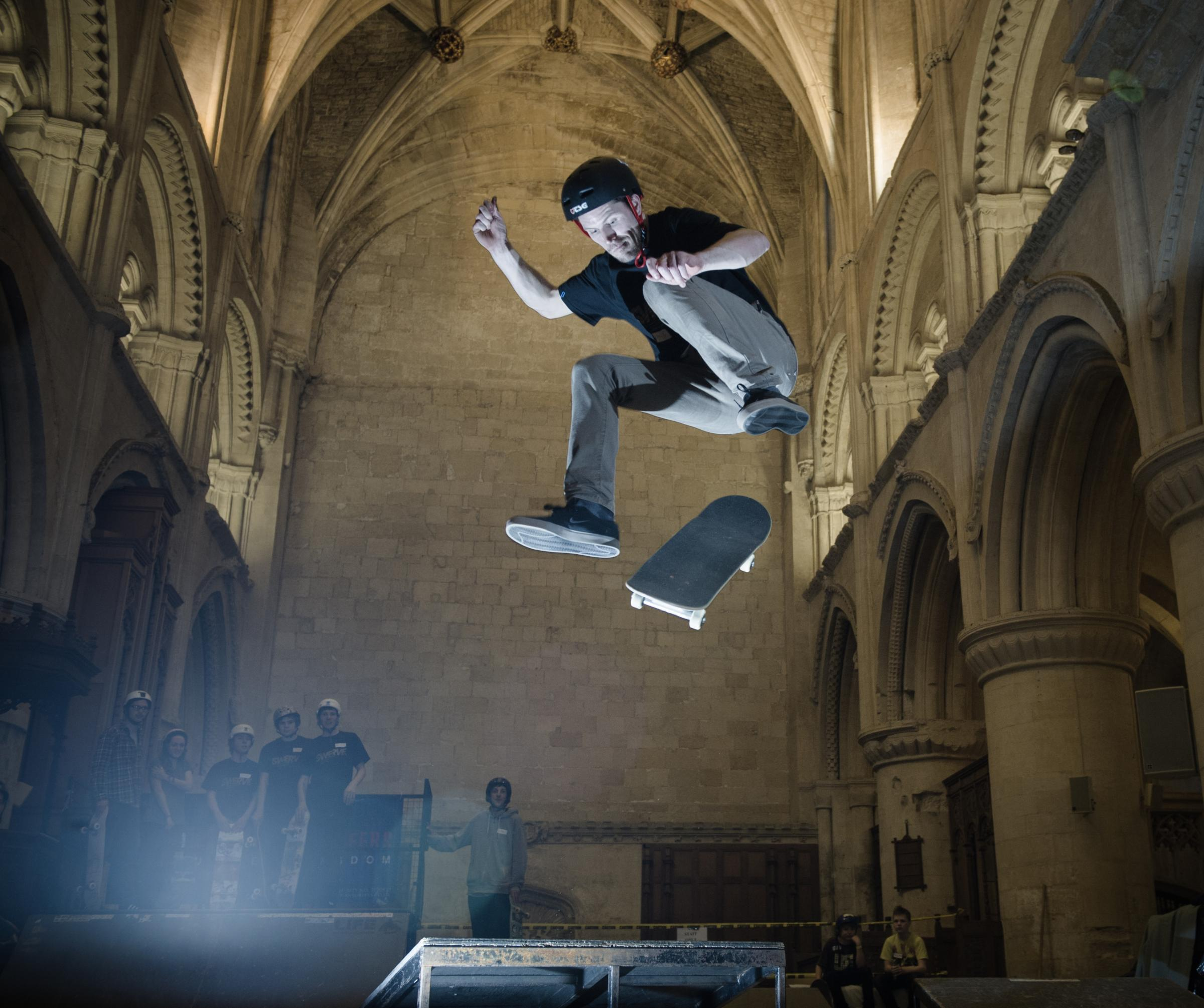 Malmesbury Skate Festival returns to Malmesbury Abbey for 10th Anniversary
