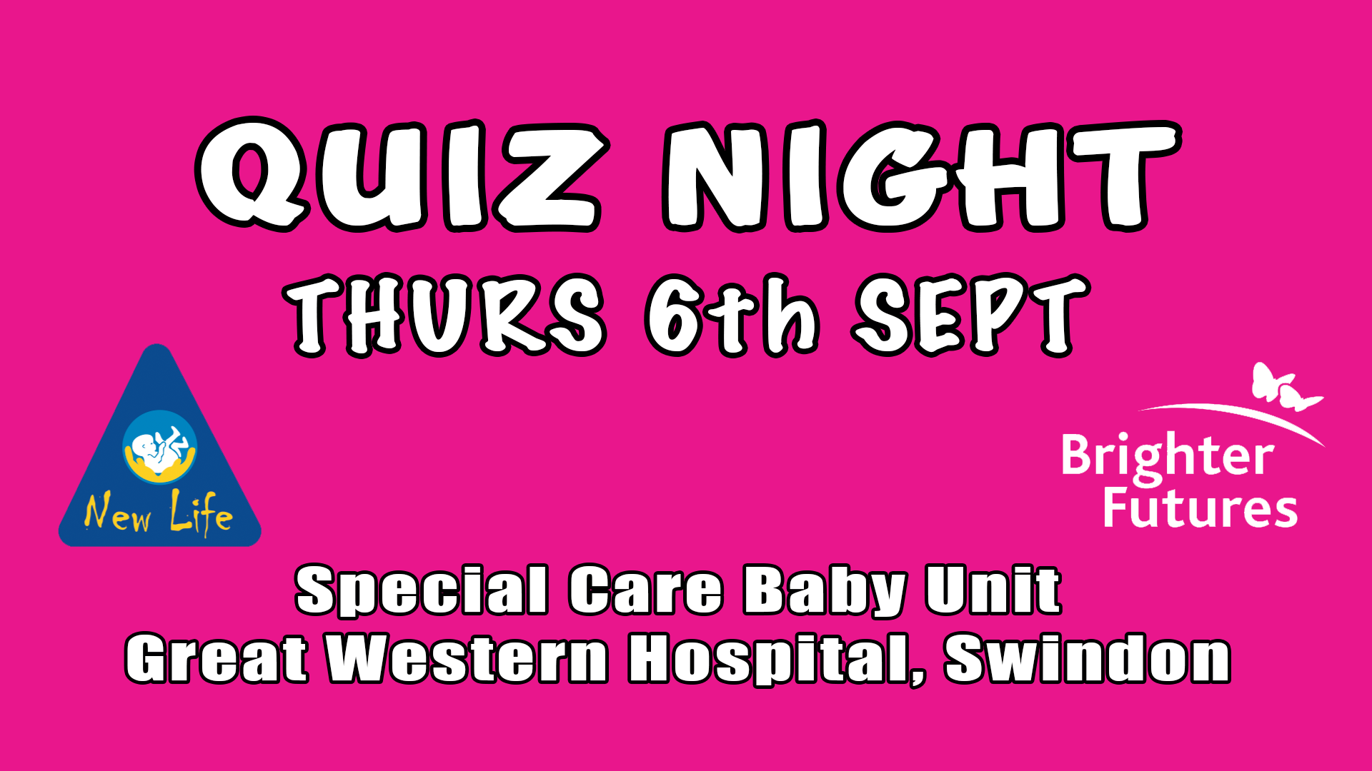 Charity Quiz Night Special Care Baby Unit, GWH