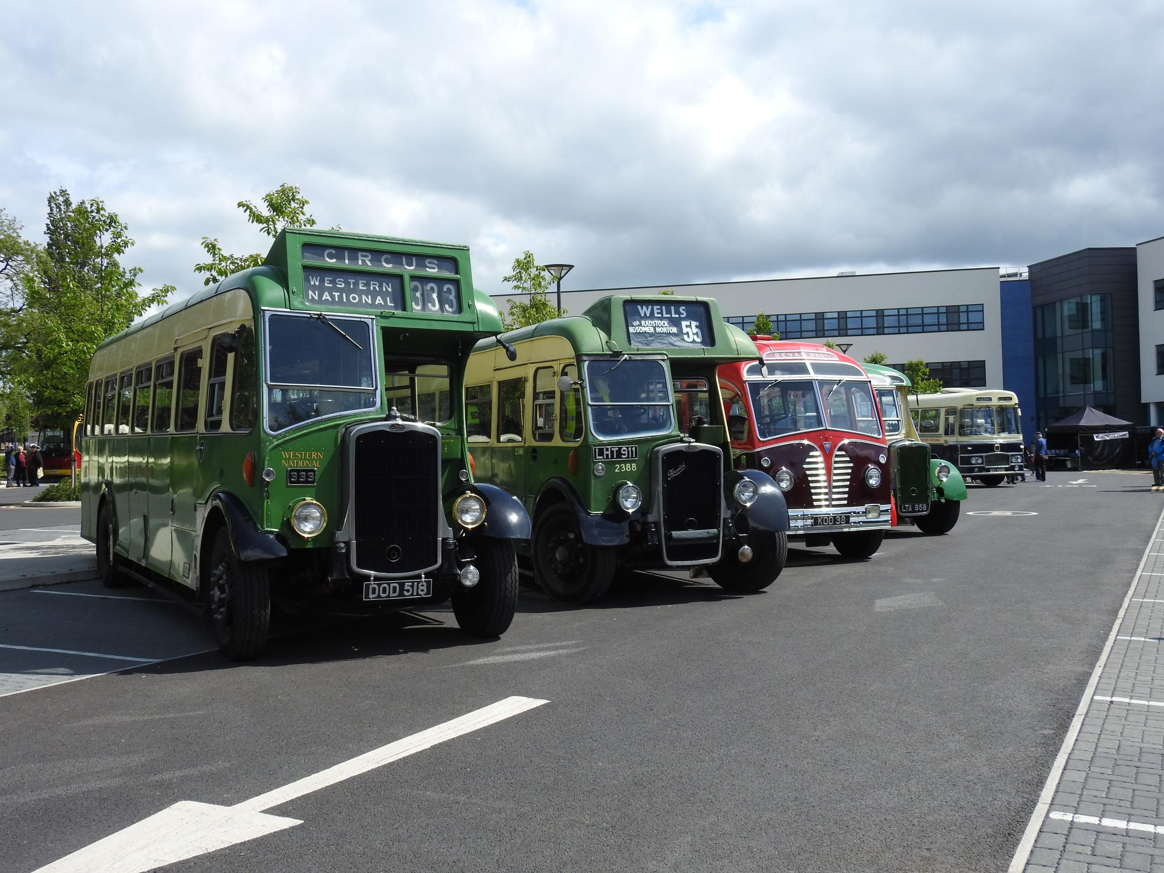 Chippenham Vintage Bus Rally and Running Day