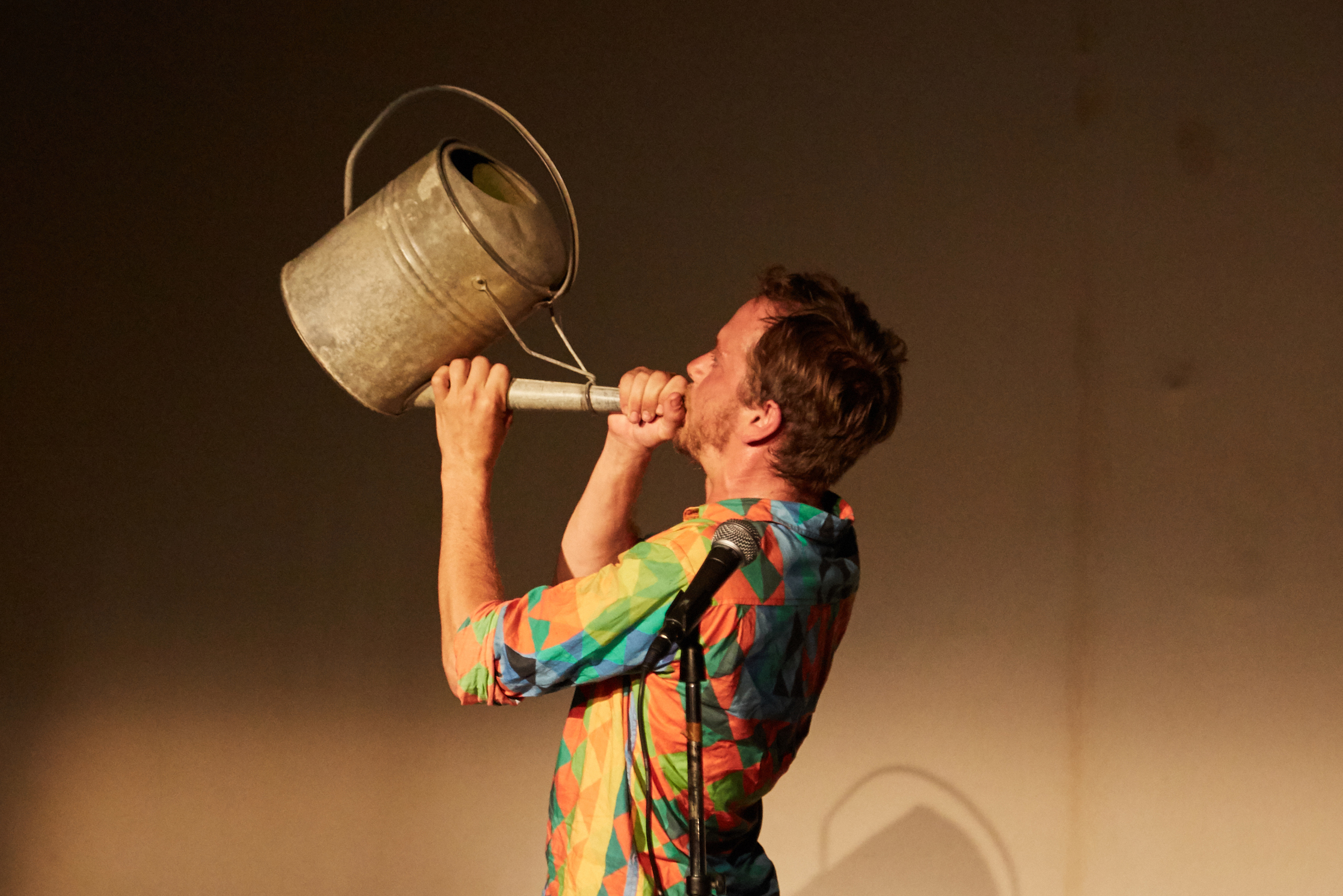 Jake Hirsch-Holland plays out the Swindon Festival of Literature finale event. Picture: FERNANDO BAGUE