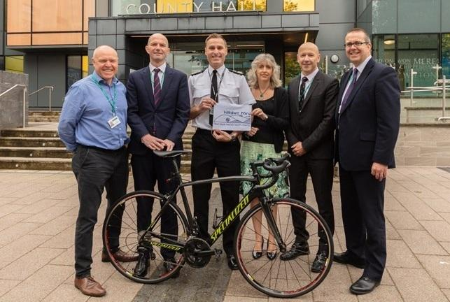 Police constables will support mental health charity with bike ride