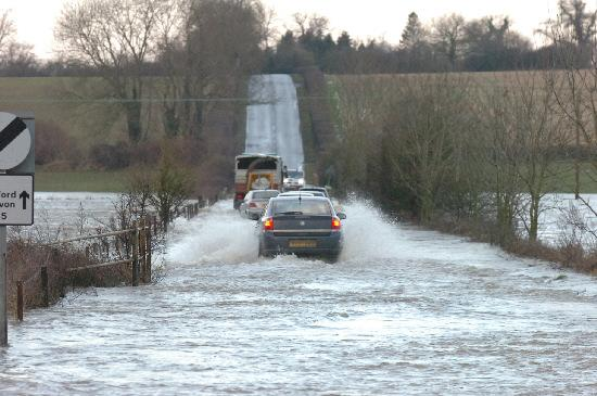 This Is Wiltshire: Motorists are being urged to drive safely and sensibly as Wiltshire prepares for more rainfall over the coming days