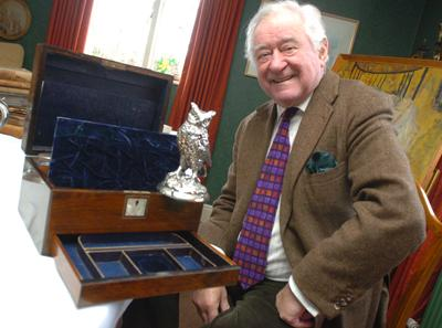 This Is Wiltshire: George Baker with some of his treasures