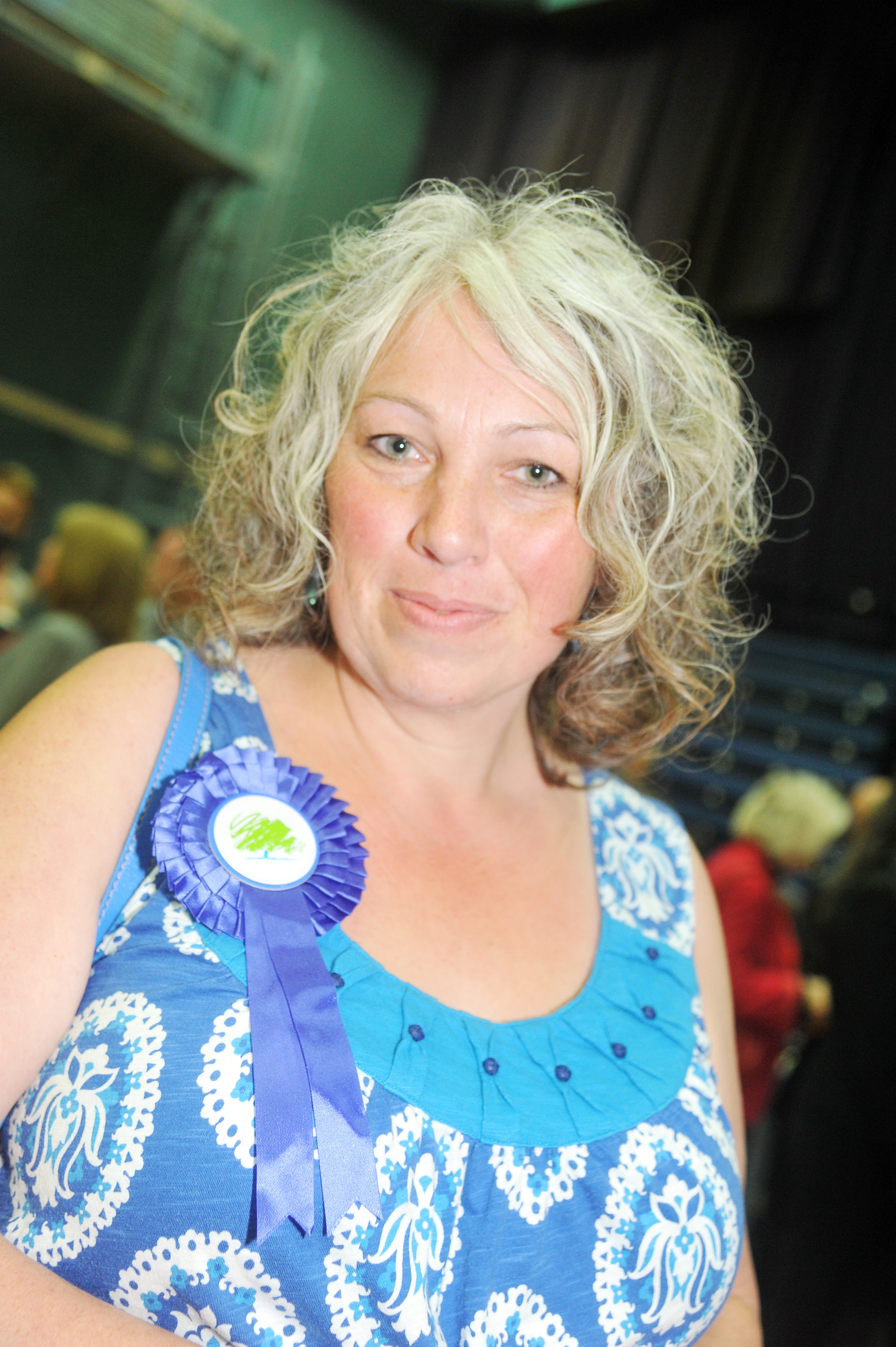 Elections 2015. Pictured Cllr Cathy Martyn for Wroughton and Wichelstowe ward..08/05/15 Thomas Kelsey.