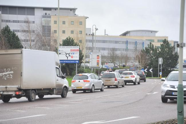 This is where the longest queues are on Swindon's roads this morning