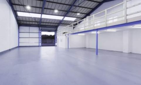 The 500sq m warehouse on the Whitehill Industrial Estate near Royal Wootton Bassett