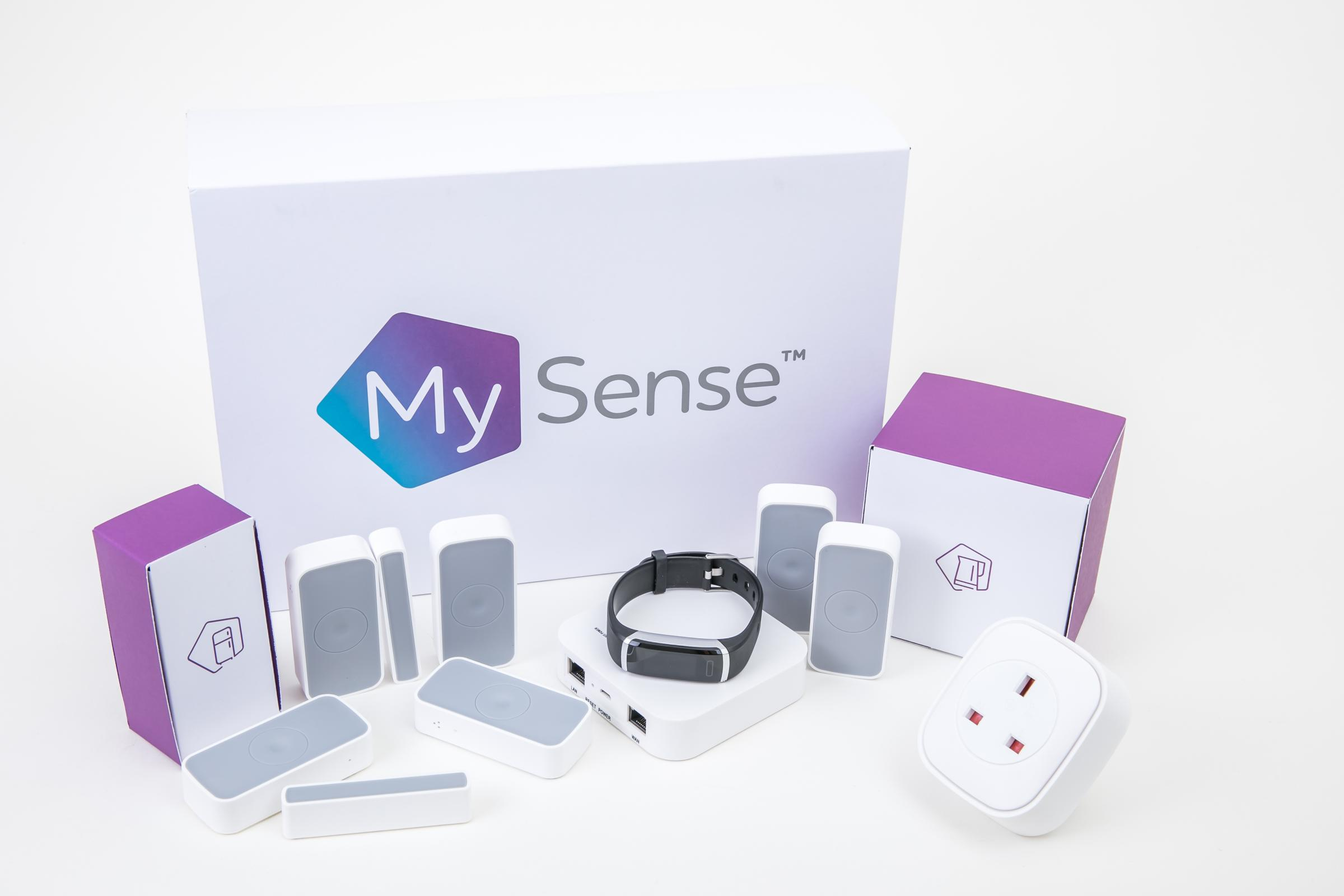Some of the sensors that will be installed in people's homes during the pilot 			         Picture: MYSENSE