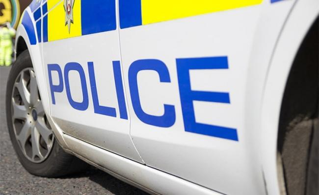 Police made an arrest after following a man to Bath