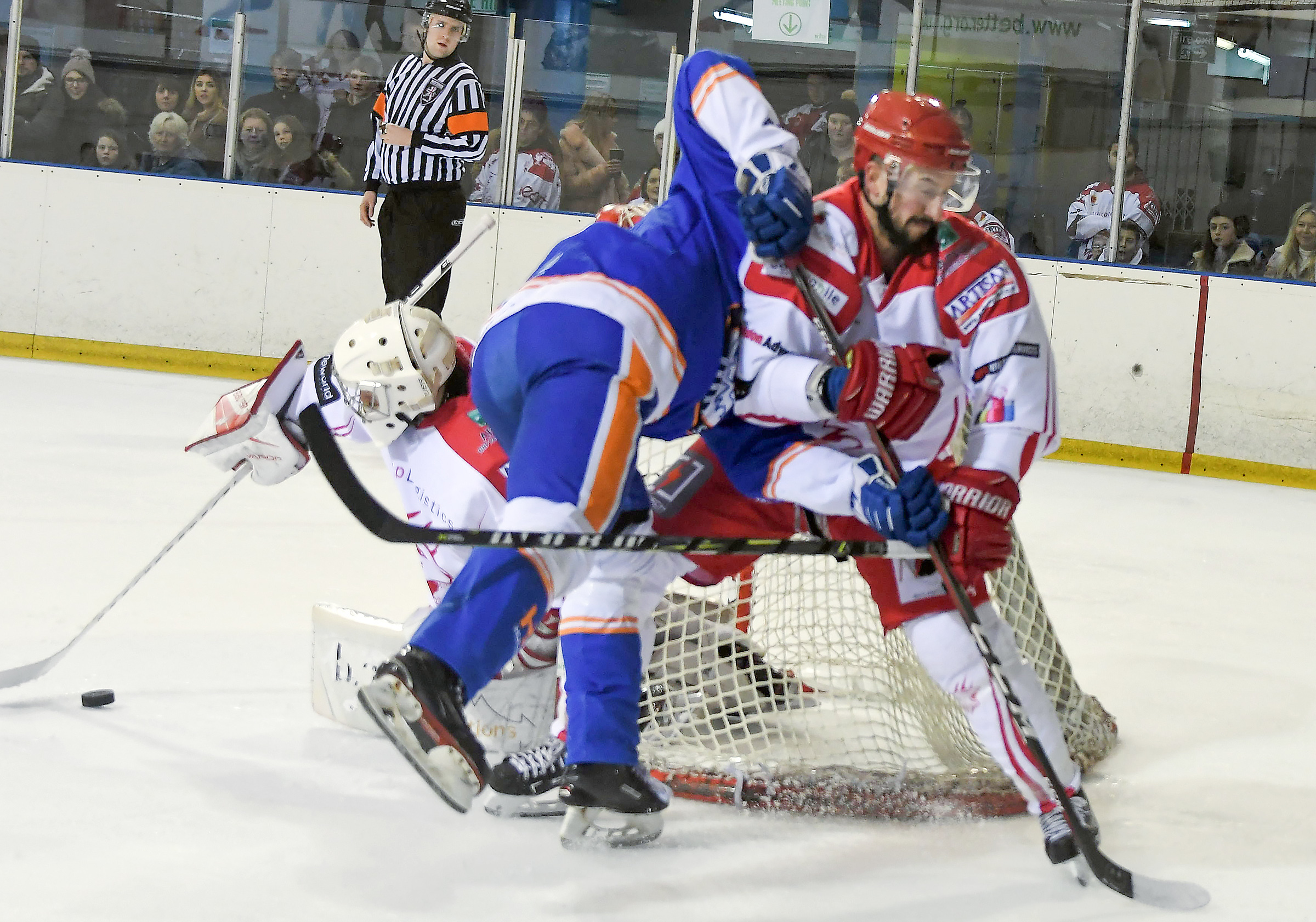 ©CALYX  .Swindon Wildcats v Peterborough.Ronny Marr and Neil Liddiard.
