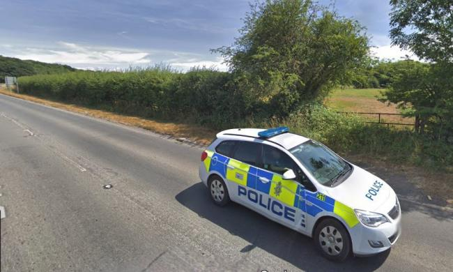 One of the drink drivers was stopped at the junction of the B4042 and B4696 outside Royal Wootton Bassett Picture: GOOGLE