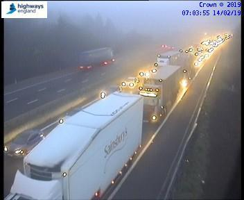 Stock image of traffic on the M4 Picture: HIGHWAYS ENGLAND