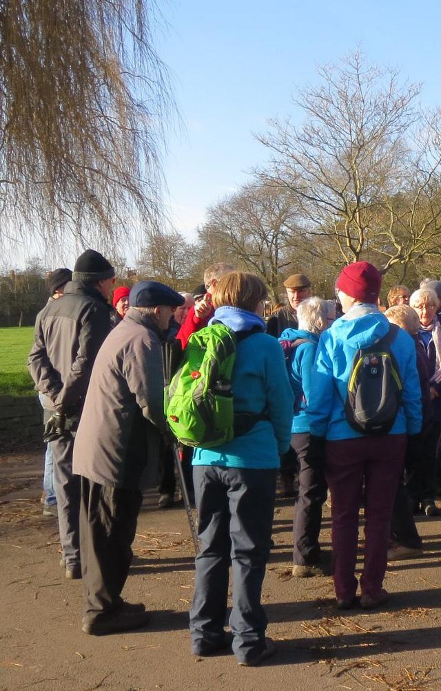 Swindon Ramblers are a mixed group of people united by a desire to experience healthy exercise amid the beauty of the surrounding countryside