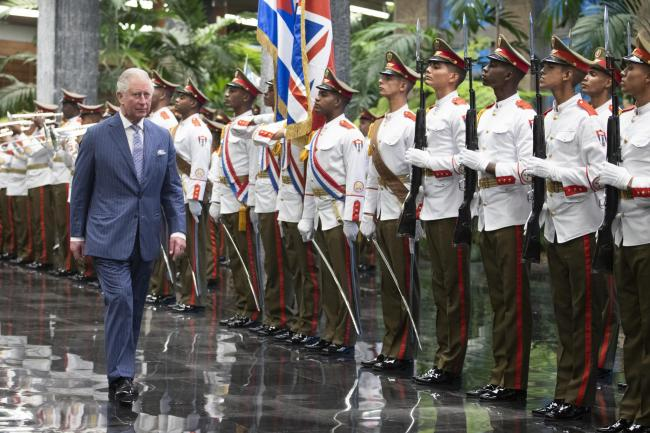 Royal tour of the Caribbean – Day 9