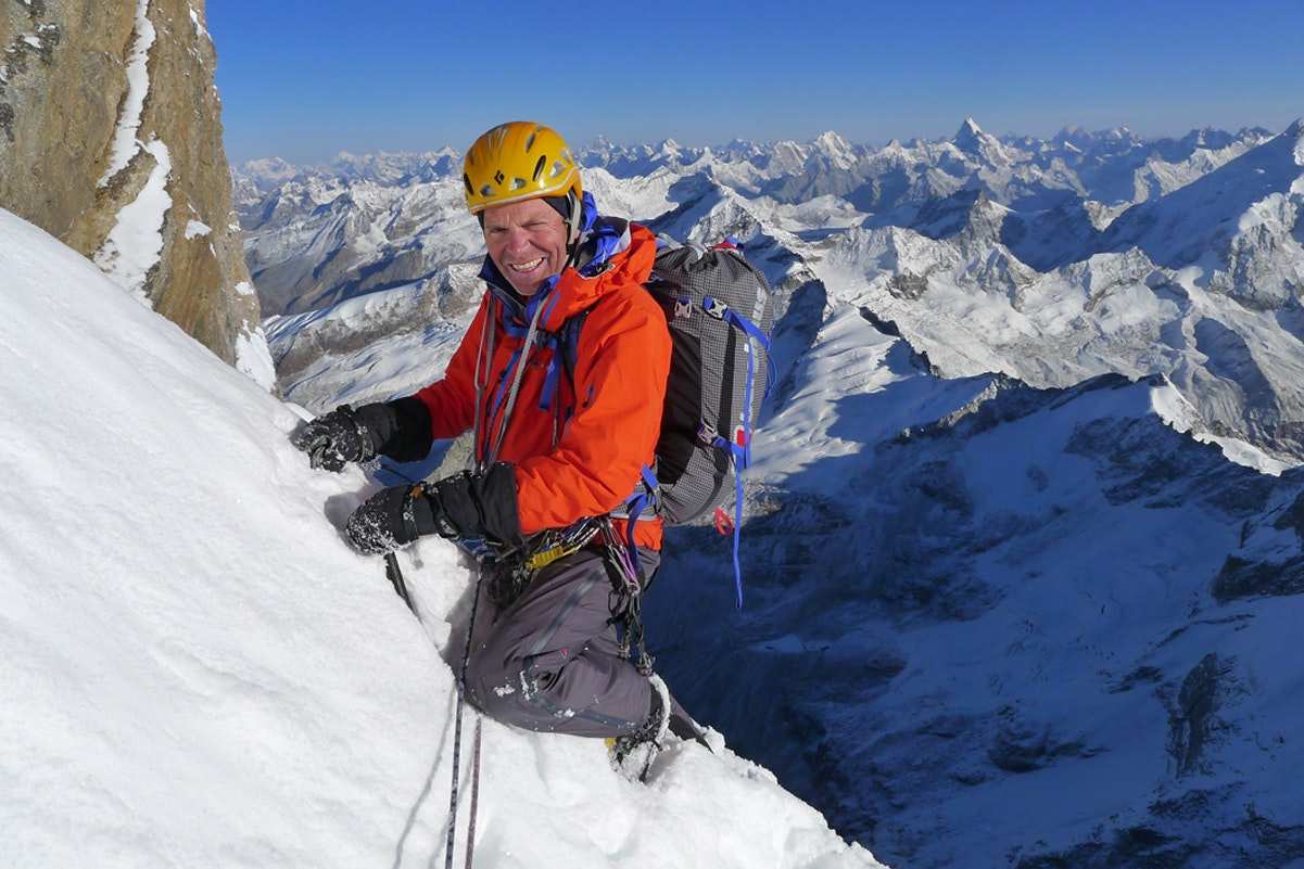 Adventurer Mick Fowler who was diagnosed with cancer in 2017