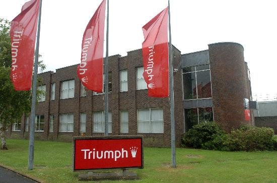 This Is Wiltshire: The Triumph factory at Groundwell