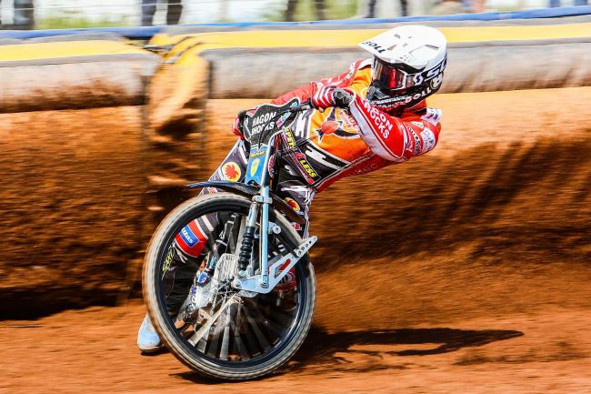 Poole Pirates 37 Swindon Robins 53; Friday, April 19, 2019; Jason Doyle; PICTURE: LES AUBREY