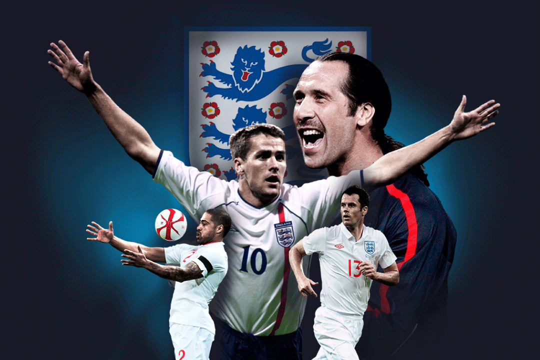 David Seaman and Michael Owen on the poster for Soccer Aid 2019