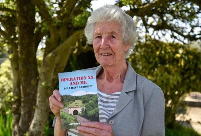 Audrey Phillips has recently published  memoirs of her late husband Glyndwr Phillips who was a WWII secret agent.. Photo by www.gphillipsphotography.com GP1640.