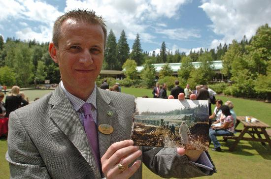 This Is Wiltshire: Andy De'Ath, general manager of Center Parcs Longleat Forest