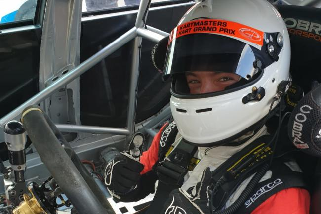 HMS Racing driver Alex Day starts the new Dunlop Touring Car Trophy season this weekend