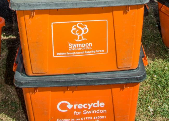Swindon Borough Council has launched a recycling campaign