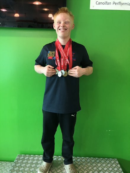 Warminster Swimming Club's Harry Humphries is hoping to qualify for the European Downs Syndrome Swimming Championships