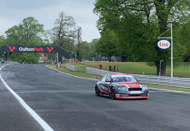 HMS Motorsport in action at Oulton Park