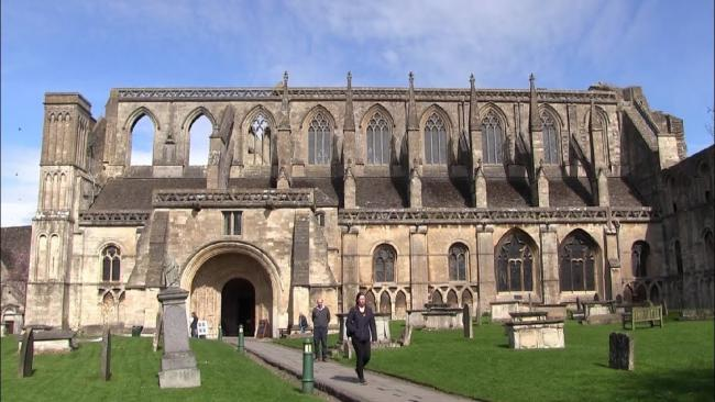 Malmesbury Abbey is the venue for the event