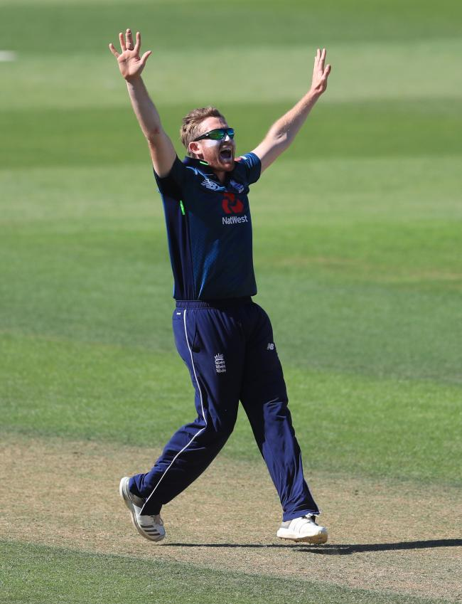 File photo dated 02-07-2018 of England's Liam Dawson. PRESS ASSOCIATION Photo. Issue date: Monday May 20, 2019. England's selectors will settle on a final 15-man World Cup squad on Monday, with the fates of David Willey, Joe Denly and potential wi