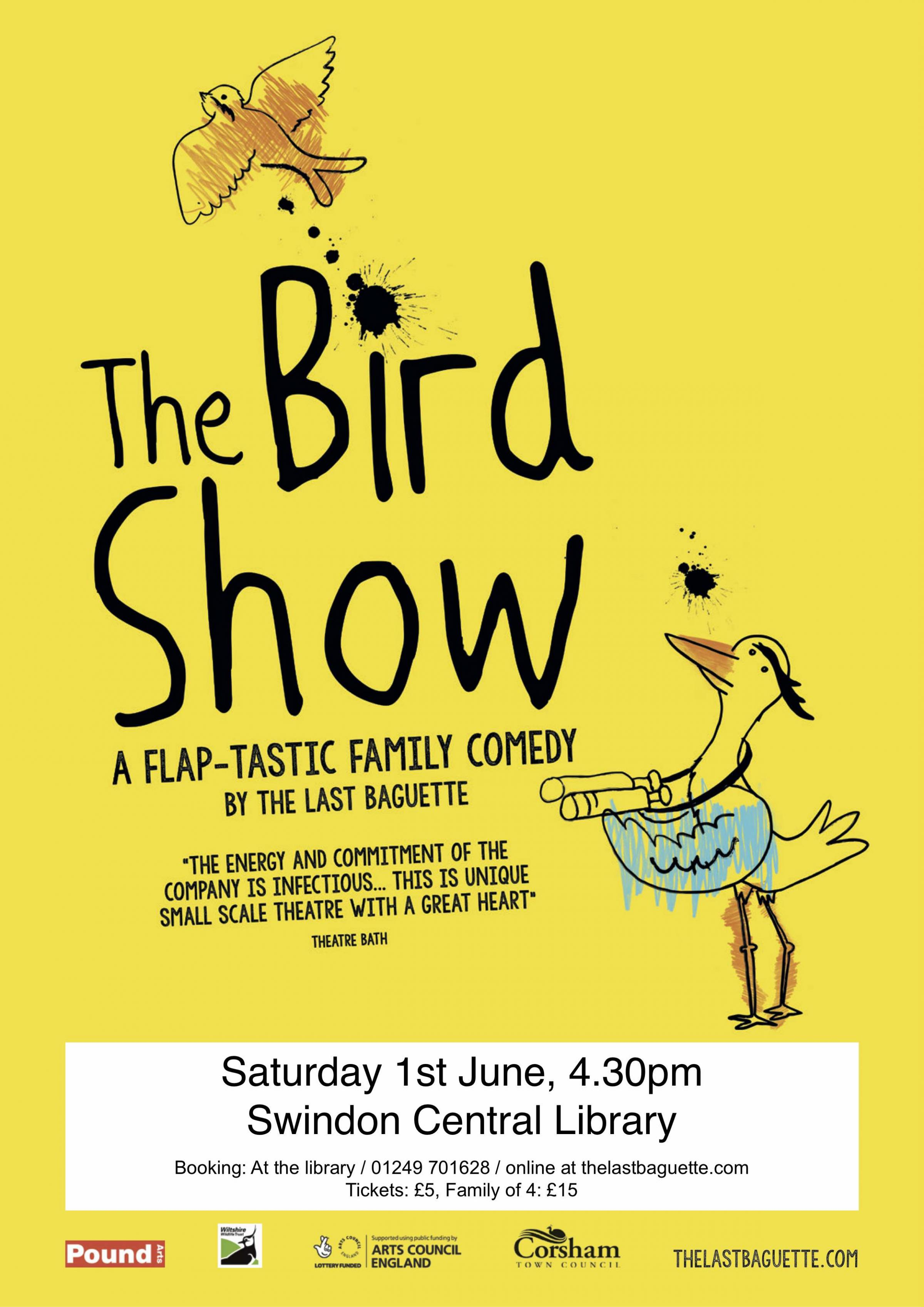 The Bird Show: a Flap-tastic Family Comedy