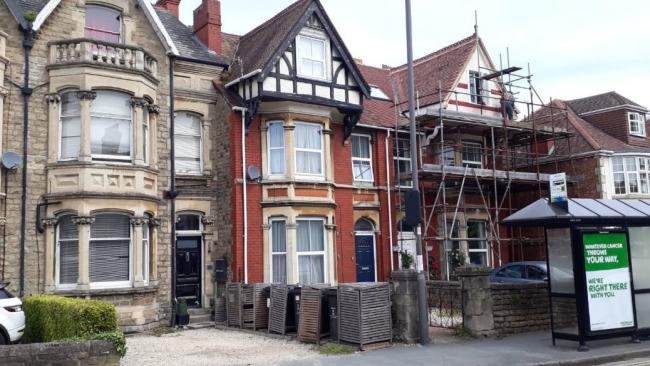 Plans to convert this house into a 9 bed HMO have been delayed